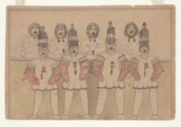 King Island Eagle-Wolf Dancers (recto)