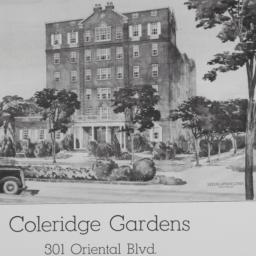 Coleridge Gardens, 301 Orie...