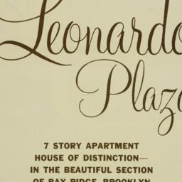 Leonardo Plaza, 149 Marine ...