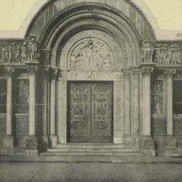 Porte de l'église de Saint ...
