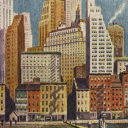 New York in Color, Wall Str...