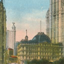 Woolworth Building and Park...