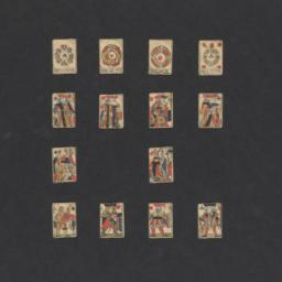 Miniature deck of standard ...