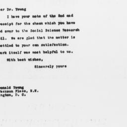 Letter from Walter A. Jessu...
