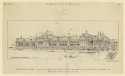 Agricultural Building, World's Columbian Exposition, Chicago, Department of Construction, September, 1891. McKim, Mead & White, Architects, New York