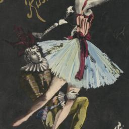 Basil's Ballets Russes program