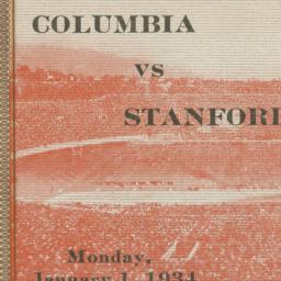 Rose Bowl Game Ticket