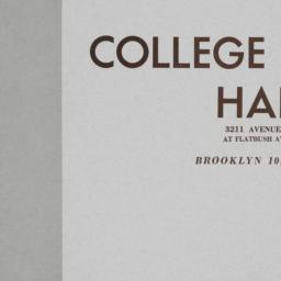 College Hall, 3211 Avenue I