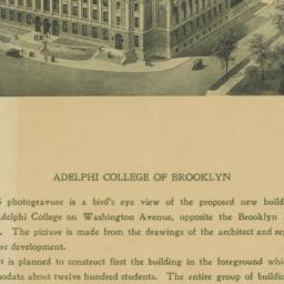 Adelphi College of Brooklyn
