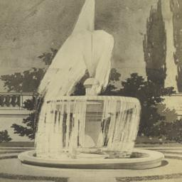 Columbia Univ. fountain, So...