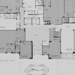 20 Beekman Place, Plan Of F...