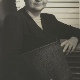 Frances Perkins with Portfolio