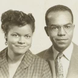 Young Barbara and Ulysses Kay