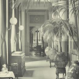 [University Club, interior ...
