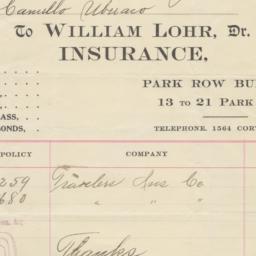 William Lohr, Dr. bill or r...