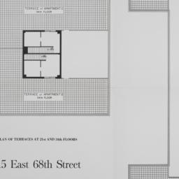 215 E. 68 Street, Plan Of T...