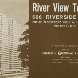 River View Towers, 626 Rive...