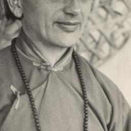 Lama Anagarika Govinda in I...