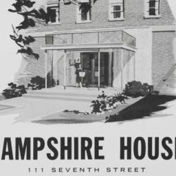 Hampshire House, 111 7 Street