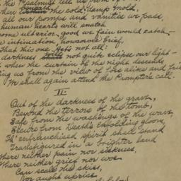 Immortal : poem (unpublishe...