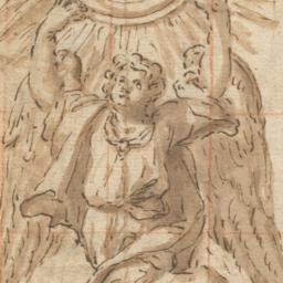 Angel Holding Aloft the Hos...