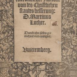 An den Christlichen Adel de...