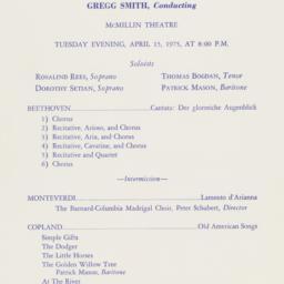 Barnard-Columbia Chorus, Pr...