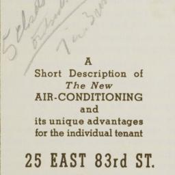 25 E. 83 Street, Complete A...