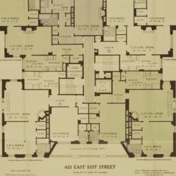 433 E. 51 Street, Plan Of 1...