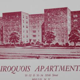 Iroquois Apartments, 91-32 ...