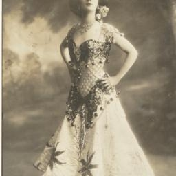 Anna Pavlova Posing in Thea...