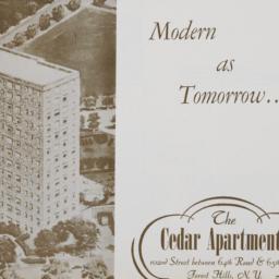 The     Cedar Apartments, 1...
