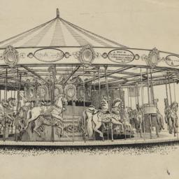 Carousels: Ink drawing of W...