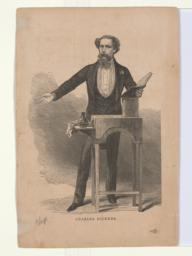 Charles Dickens (verso)