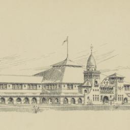 Pavilion with annex - for C...