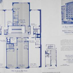 11 E. 88 Street, Plan Of 1s...