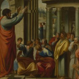 Paul Preaching at Athens