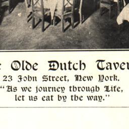 Ye Olde Dutch Tavern Paul L...