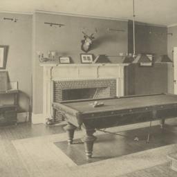 Billiard-room: Harvard Club...