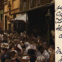 The     Ghetto.- Market Day.