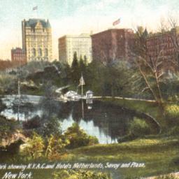 Swan Lake, Central Park Sho...