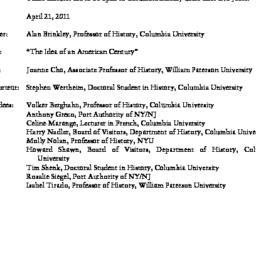 Minutes, 2011-04-21. Twenti...