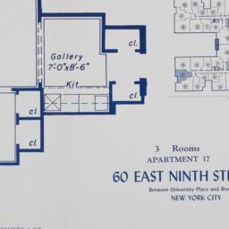 60 E. 9 Street, Apartment 17