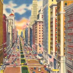 Park Avenue Looking North f...