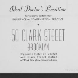50 Clark Street, Ideal Doct...