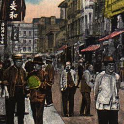 Scene in Pell Street (China...