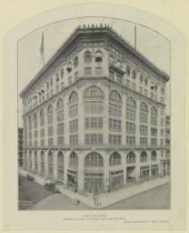 Cable Building. Northwest corner of Houston Street and Broadway. McKim, Mead & White, Architects, New York