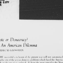 Review of AN AMERICAN DILEM...