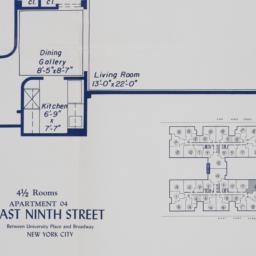 60 E. 9 Street, Apartment 04
