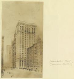 """Knickerbocker Trust """"Downtown Building"""